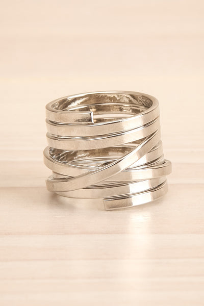 Alacritas Silver Fashion Rings | Bagues | La Petite Garçonne small close-up