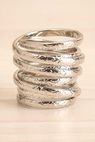Alacritas Silver Fashion Rings | Bagues | La Petite Garçonne big close-up