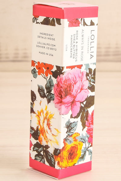 Always in Rose Mini Handcream | La Petite Garçonne Chpt. 2 packaging close-up