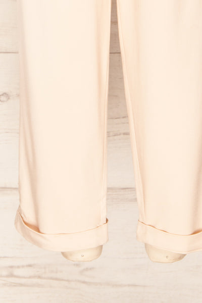 Ammy Blush Pleated High Waist Pants | La petite garçonne bottom