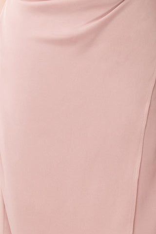 Anita Dusty Mauve Dress | Robe Mauve Cendré fabric | Boutique 1861