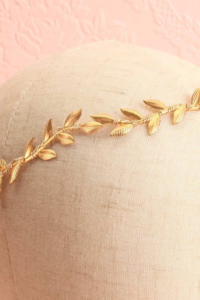 Apata Gold Leaves Headband | Boudoir 1861 5