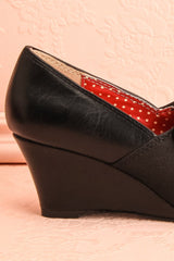 Apia - Black wedge B.A.I.T. shoes
