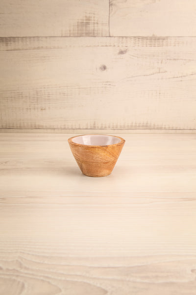 Avola Lilac Decorative Wooden Bowl | La Petite Garçonne Chpt. 2 small size