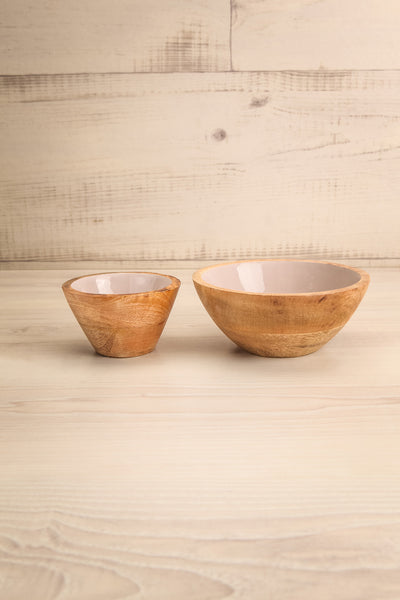 Avola Lilac Decorative Wooden Bowl | La Petite Garçonne Chpt. 2 different sizes