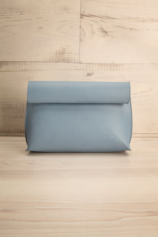 Ayios Blue Roll Clutch Crossbody Bag | La Petite Garçonne