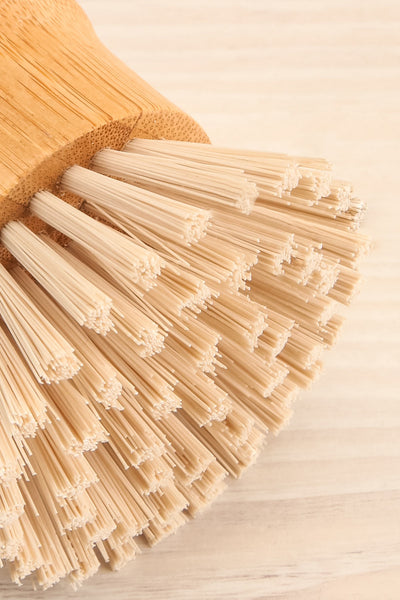 Bamboo Handle Brush Dishes | La petite garçonne flat close-up