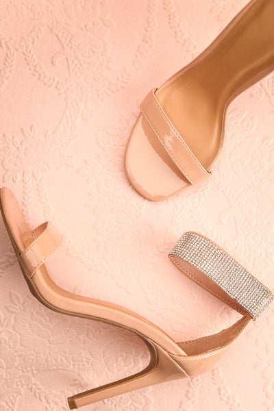 Bassompierre High Heeled Sandals | Sandales | Boutique 1861 flat lay