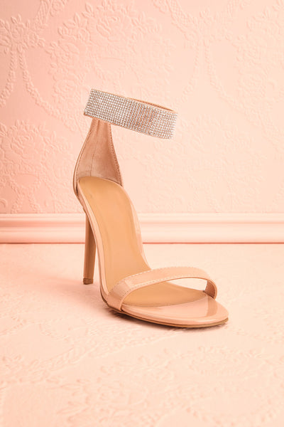 Bassompierre High Heeled Sandals | Sandales | Boutique 1861 front view