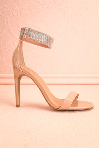 Bassompierre High Heeled Sandals | Sandales | Boutique 1861 side view