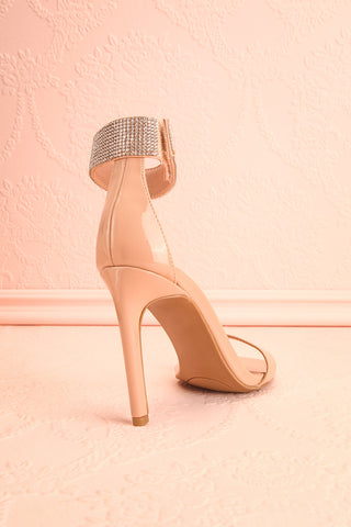Bassompierre High Heeled Sandals | Sandales | Boutique 1861 back view