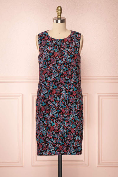 Baylor Black Floral Dress | Robe Fleurie | Boutique 1861