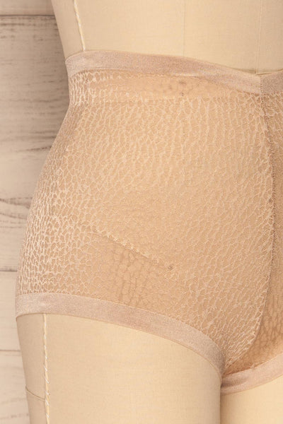 Becca Gold Mesh Panty | La Petite Garçonne Chpt. 2 side close-up