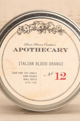 Bougie Italian Blood Orange - Perfumed candle in a box