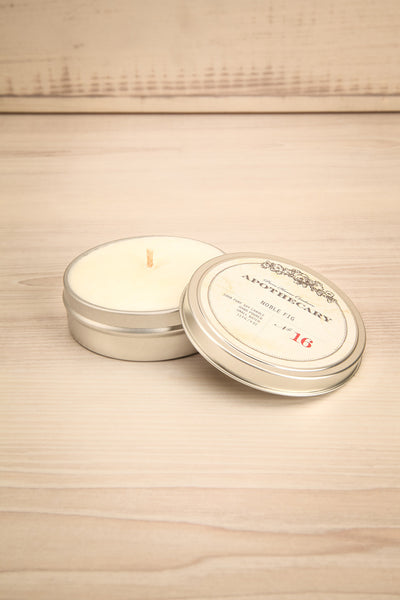Bougie Noble Fig - Perfumed candle in a tin box 1