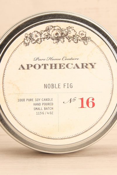 Bougie Noble Fig - Perfumed candle in a tin box 2