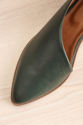 Brandia Basil Green Slip-On Shoes | La Petite Garçonne Chpt. 2 2