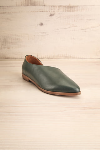 Brandia Basil Green Slip-On Shoes | La Petite Garçonne Chpt. 2 3