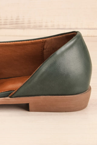 Brandia Basil Green Slip-On Shoes | La Petite Garçonne Chpt. 2 7