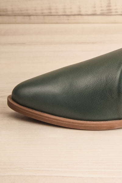 Brandia Basil Green Slip-On Shoes | La Petite Garçonne Chpt. 2 6