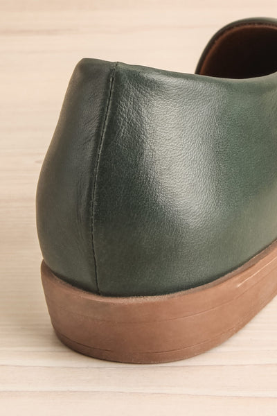 Brandia Basil Green Slip-On Shoes | La Petite Garçonne Chpt. 2 9