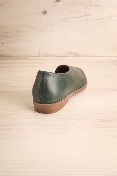 Brandia Basil Green Slip-On Shoes | La Petite Garçonne Chpt. 2 8
