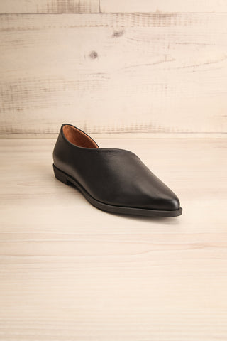 Brandia Licorice Black Slip-On Shoes | La Petite Garçonne Chpt. 2 3