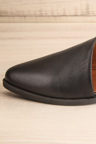 Brandia Licorice Black Slip-On Shoes | La Petite Garçonne Chpt. 2 6