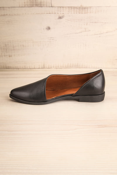 Brandia Licorice Black Slip-On Shoes | La Petite Garçonne Chpt. 2 5