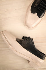 Brogue Black and Beige Oxford Shoes | La Petite Garçonne Chpt. 2