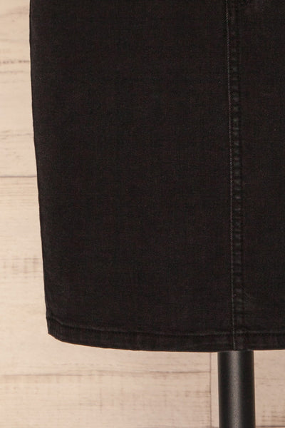 Cahul Storm Black Denim Skirt | La petite garçonne bottom