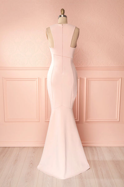 Camila Aube | Light Pink Mermaid Gown