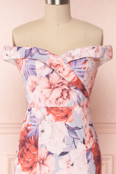 Camily | Pink Floral Dress