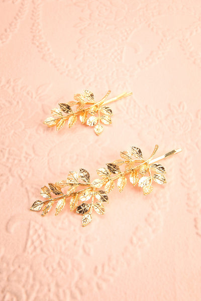Carondelet Set of 2 Golden Branch Hair Pins | Boudoir 1861