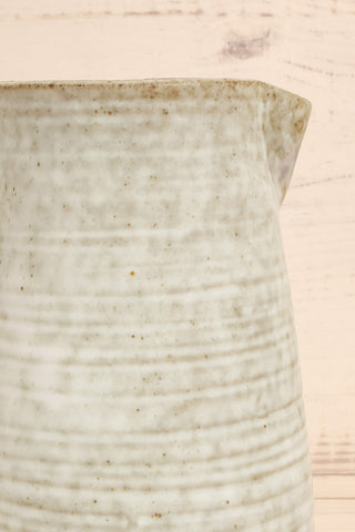 Carrare Grey Ceramic Pitcher close-up | La Petite Garçonne Chpt. 2