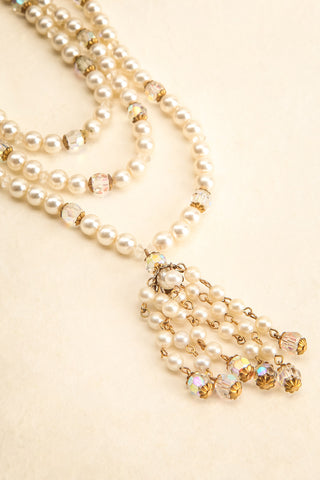 Catherine de Medecis Vintage Necklace | Collier | Boudoir 1861 flat view