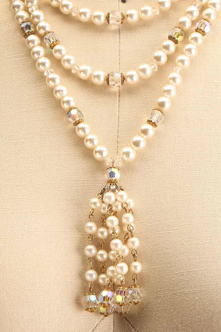Catherine de Medecis Vintage Necklace | Collier | Boudoir 1861 close-up