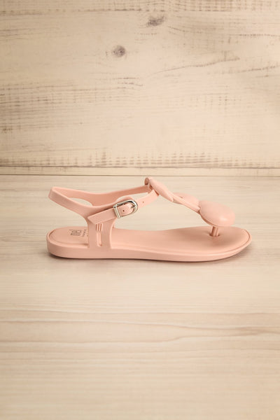 Cerignola Mini Kids Pink Cherry T-Strap Sandals | Boutique 1861