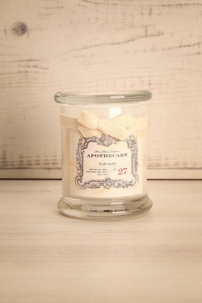 Chandelle Plum Agave -Perfumed candle in a jar 1