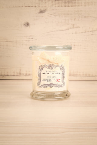 Chandelle White Lilac - Perfumed candle in a glass jar