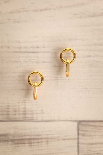 Concatenare Gold Plated Chain Earrings | La Petite Garçonne Chpt. 2
