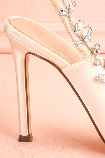 Deanne | Ivory Stiletto Shoes