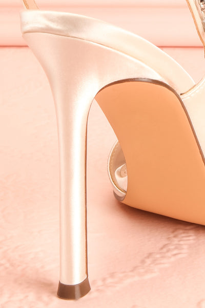 Deanne | Ivory High Heel Shoes