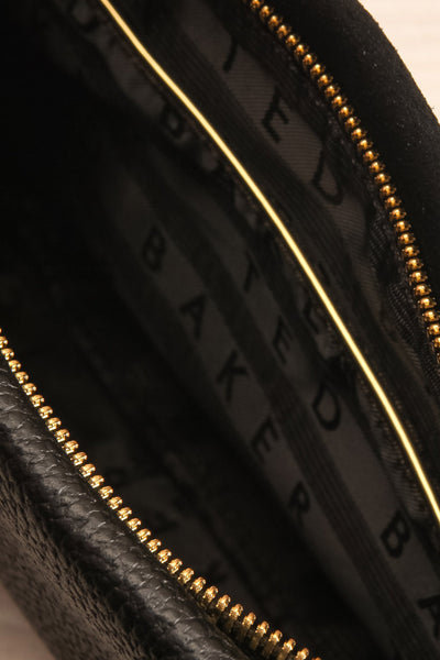Demetra Black Ted Baker Handbag inside close-up | La Petite Garçonne Chpt. 2