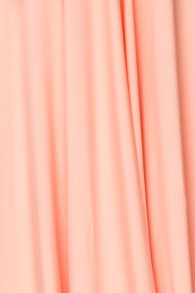 Elatia Blush Light Pink Convertible Dress fabric detail | Boudoir 1861 fabric detail