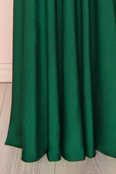 Elatia Forêt | Green Maxi Convertible Dress