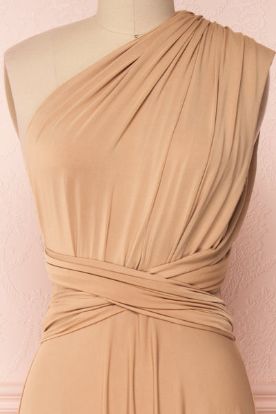 Elatia Sable | Maxi Convertible Dress