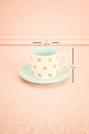 Ensemble à Thé Dog - Set of Tea Cup and Saucer | Boutique 1861 measurements