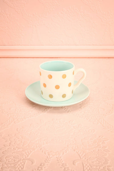 Ensemble à Thé Dog - Set of Tea Cup and Saucer | Boutique 1861