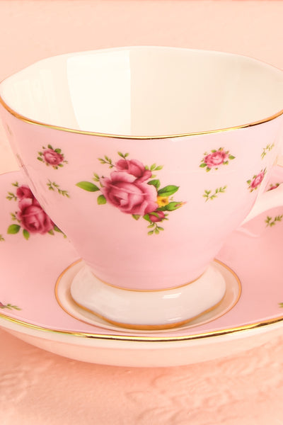 Ensemble Anji Rose Pink Floral Tea Set | Boutique 1861 3